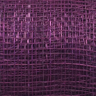 Sinamay Craft Ribbon Roll 10mtrs - Plum