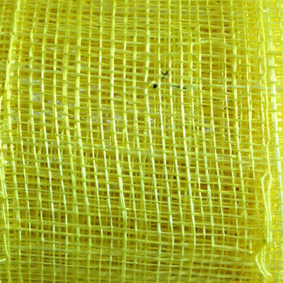 Sinamay Craft Ribbon Roll 10mtrs - Yellow