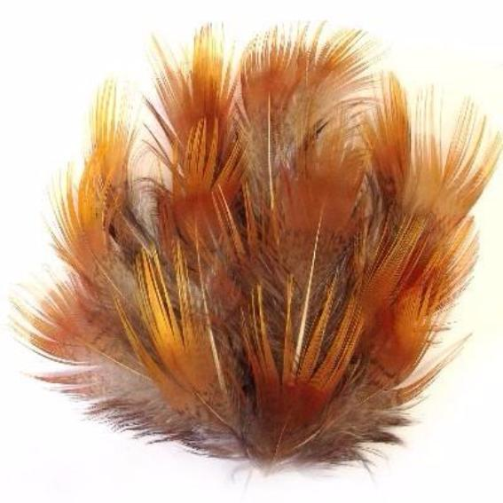 Yellow Golden Pheasant Plumage Feather - 1 gram