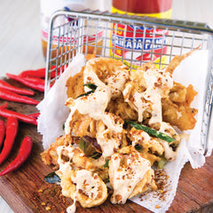 Deep Fried Squid With Spicy Mayo