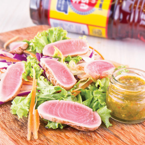 Poached Tuna Salad