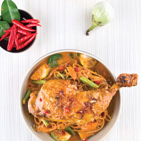 Thai Laksa With Chicken