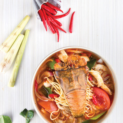 Tom Yum Soup Pasta Kang
