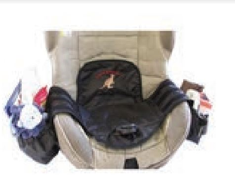 CHILD CAR SEAT PROTECTOR AND ORGANIZER
