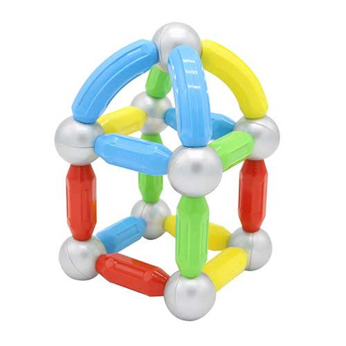 36 piece magnetic bars & balls