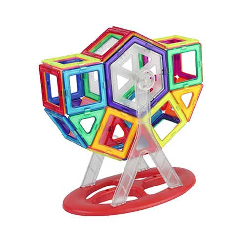 46 piece Magnetic toys