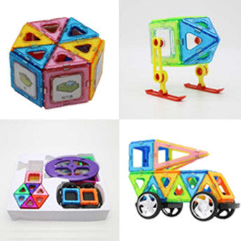 100+76 piece Magnetic toys