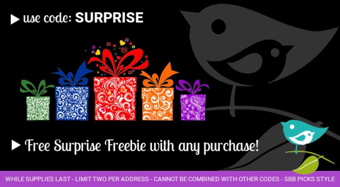 Free Surprise with order