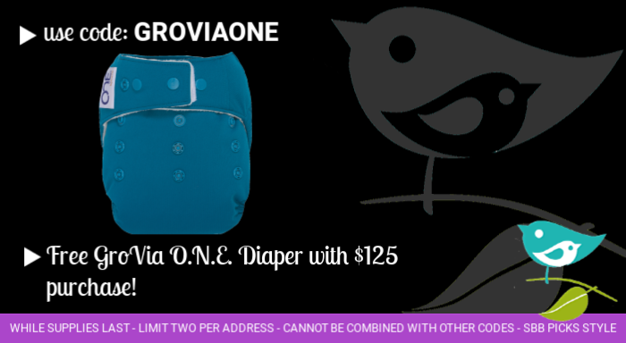 Free GroVia O.N.E. with purchase