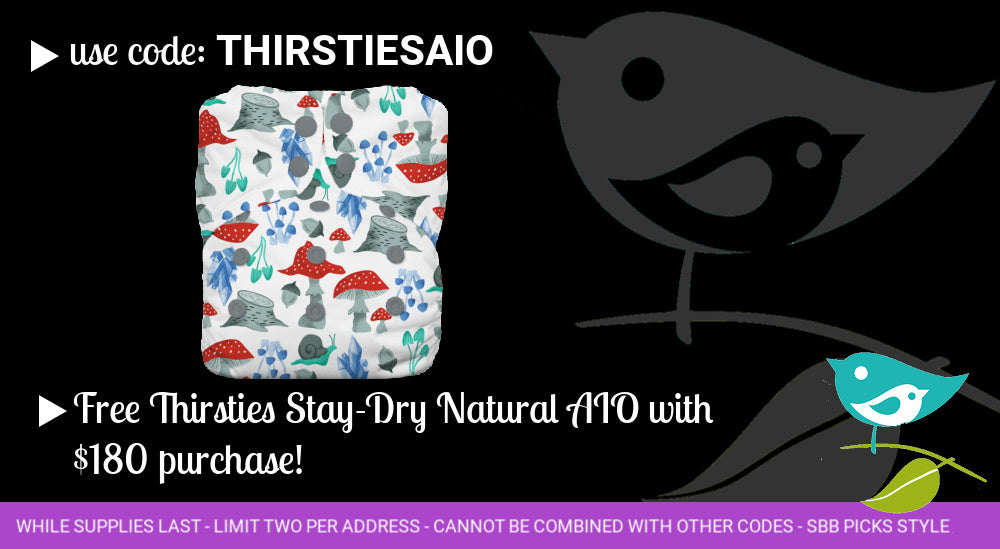 free thirsties diaper with purchase