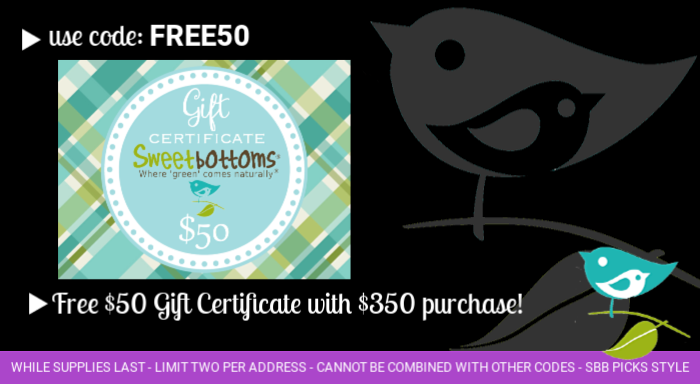 Free Gift Certificate with purchase