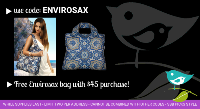 Free Envirosax bag with purchase