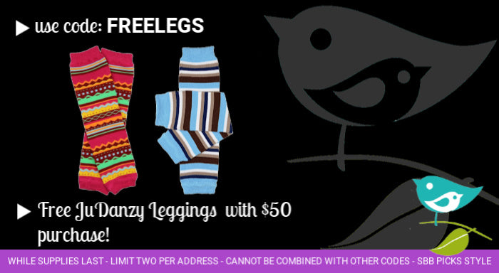 Free baby leggings with purchase