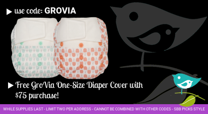 Free GroVia cover with purchase