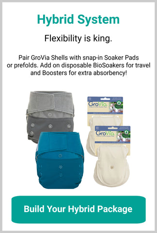 GroVia Hybrid Diaper Packages