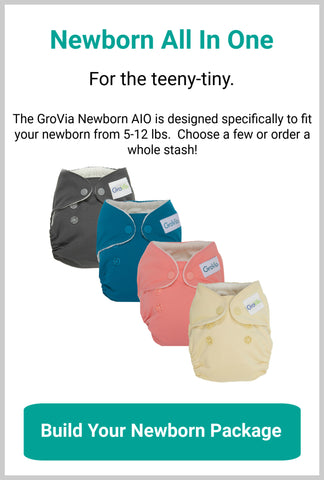 GroVia Newborn Diaper Packages