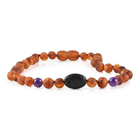 Image of Baltic Amber Aromatherapy Necklace for Children