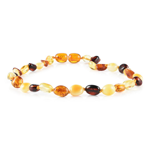 Image of Baltic Amber Necklace for Children - CLEARANCE