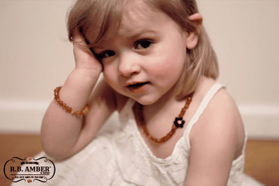 Baltic Amber Aromatherapy Children's Bracelet Teething Jewelry R.B. Amber Jewelry