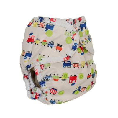Buttons One-Size Diaper Cover Cloth Diaper Buttons Diapers All Aboard