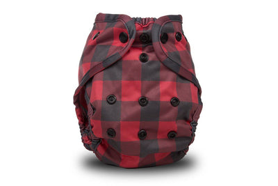 Buttons One-Size Diaper Cover Cloth Diaper Buttons Diapers Lumberjack