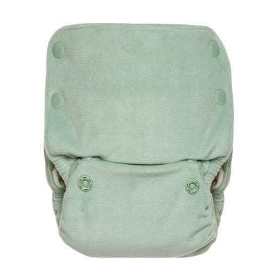 GroVia Buttah Organic One-Size All-In-One Cloth Diaper Cloth Diaper GroVia Glacier