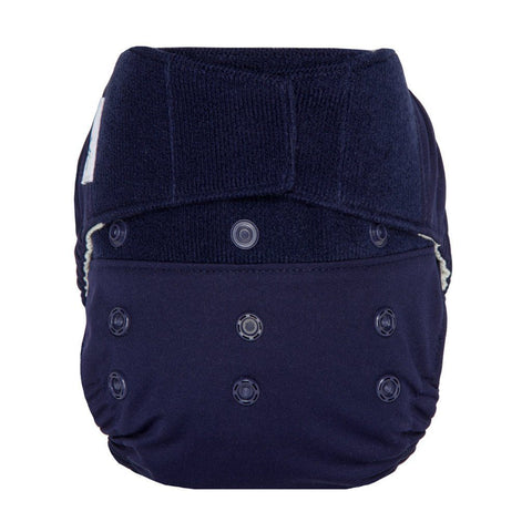 Image of GroVia Hybrid Cloth Diaper Shell Cloth Diaper GroVia Hook & Loop Arctic