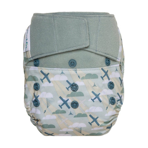 Image of GroVia Hybrid Cloth Diaper Shell Cloth Diaper GroVia Hook & Loop Maverick