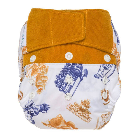 GroVia Hybrid Cloth Diaper Shell Cloth Diaper GroVia Hook & Loop Only You