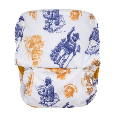 GroVia Organic One-Size All-In-One Cloth Diaper Cloth Diaper GroVia Only You