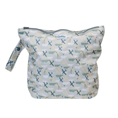 GroVia Zippered Cloth Diaper Wetbag Diapering Accessory GroVia Maverick