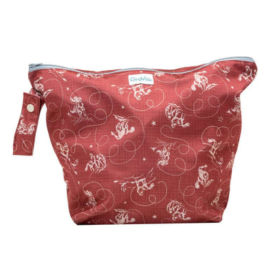 GroVia Zippered Cloth Diaper Wetbag Diapering Accessory GroVia Tex