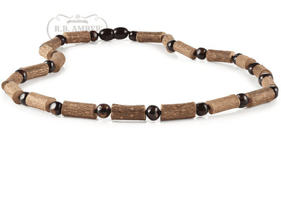 Hazelwood & Baltic Amber Necklace for Adults Jewelry R.B. Amber Jewelry 17-19 inches Cherry