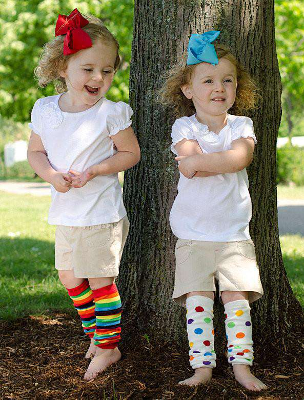 juDanzy Sport Team Fan Baby and Toddler Leg Warmers in a Variety of Colors