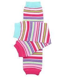 juDanzy Leg Warmers Clothing juDanzy Garden Stripe