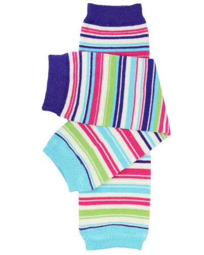 juDanzy Leg Warmers Clothing juDanzy Linear Stripe