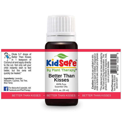 KidSafe Better Than Kisses Synergy Blend - Plant Therapy 100% Pure Essential Oils Essential Oil Plant Therapy Essential Oils