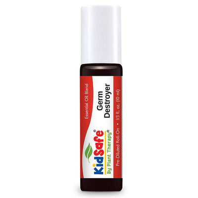 KidSafe Germ Destroyer Synergy Blend - Plant Therapy 100% Pure Essential Oils Essential Oil Plant Therapy Essential Oils 10 ml Pre-Diluted Roll-On