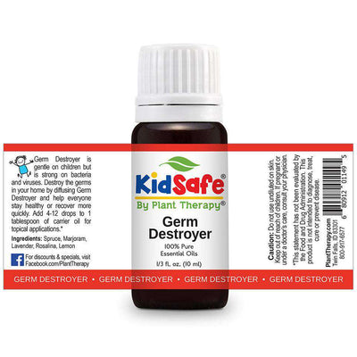 KidSafe Germ Destroyer Synergy Blend - Plant Therapy 100% Pure Essential Oils Essential Oil Plant Therapy Essential Oils