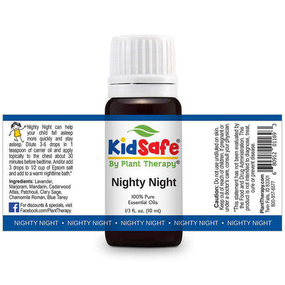 KidSafe Nighty Night Synergy Blend - Plant Therapy 100% Pure Essential Oils Essential Oil Plant Therapy Essential Oils