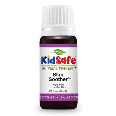 KidSafe Skin Soother Synergy Blend - Plant Therapy 100% Pure Essential Oils Essential Oil Plant Therapy Essential Oils 10 ml