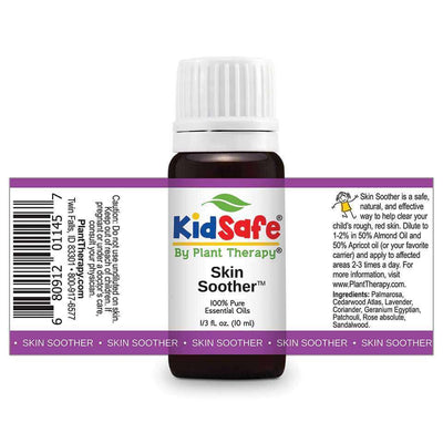 KidSafe Skin Soother Synergy Blend - Plant Therapy 100% Pure Essential Oils Essential Oil Plant Therapy Essential Oils