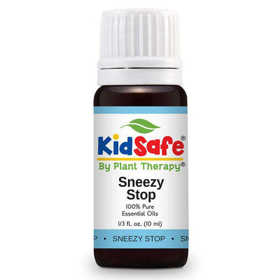 KidSafe Sneezy Stop Synergy Blend - Plant Therapy 100% Pure Essential Oils Essential Oil Plant Therapy Essential Oils 10 ml