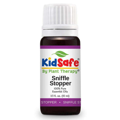 KidSafe Sniffle Stop Synergy Blend - Plant Therapy 100% Pure Essential Oils Essential Oil Plant Therapy Essential Oils 10 ml