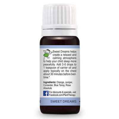 KidSafe Sweet Dreams Synergy Blend - Plant Therapy 100% Pure Essential Oils Essential Oil Plant Therapy Essential Oils