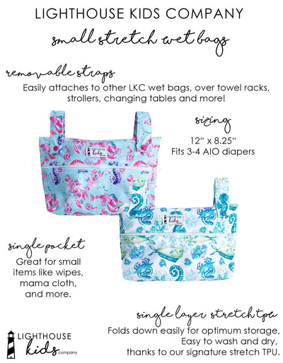 Lighthouse Kids Company SIMPLICITY™️ Small Wet Bag Diapering Accessory Lighthouse Kids Company