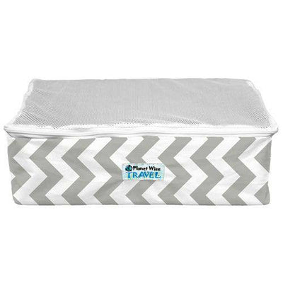 Planet Wise Packing Cube Natural Home Planet Wise Small Gray Chevron Way