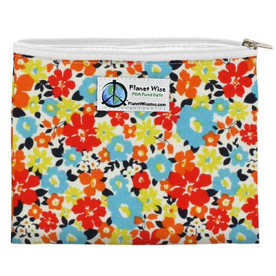Planet Wise Reusable Zipper Sandwich Bag Feeding Planet Wise Fancy Pants