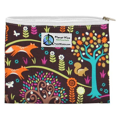 Planet Wise Reusable Zipper Sandwich Bag Feeding Planet Wise Jewel Woods