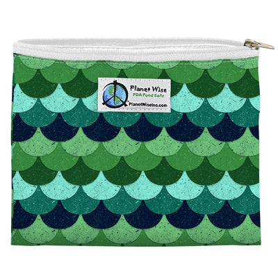 Planet Wise Reusable Zipper Sandwich Bag Feeding Planet Wise Loch Ness Poly